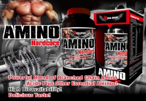 AMINO Hardcore 325 tablets Supplements facts