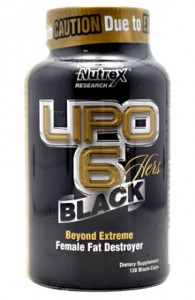 Lipo-6 Black 120 Caps ( Nutrex ) female fat destroyer