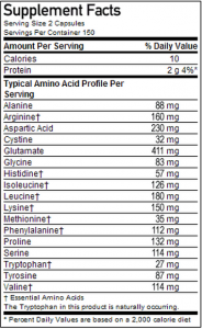 superior-amino-2222-320-tabs supplements facts