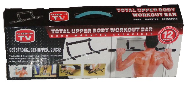 Power Gym Iron In Stan Total Upper Body Workout Bar