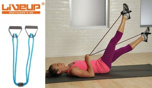 Liveup Dual Tube Exerciser