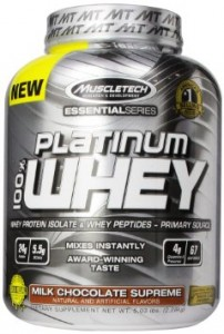 Platinum 100% Whey Essential Series 5lb (Muscle Tech)