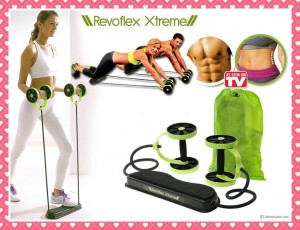 REVOFLEX XTREME MULTI-USE FITNESS MACHINE