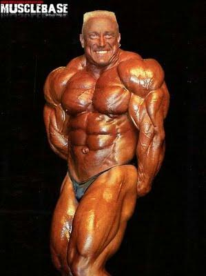 Markus Ruhl at 1999 Mr  Olympia